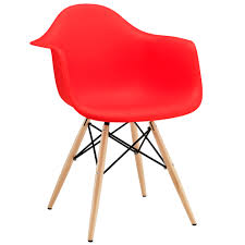 Sillón DAW (Importada- Rojo) | Carlos Calvo | Dining Arm Chair ... Charles And Ray Eames Chair Vitra Plastic Armchair Daw With Full Upholstery Side Dsw By 1950 Style Dowel And Chairs 115 For Sale At 1stdibs Lounge Ottoman Herman Miller Eiffel Inspired Ding Retro Design Dsr Viaduct