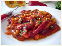 cuisiner les poivrons rouges mezze de poivrons rouges du sel dans ma cuisine