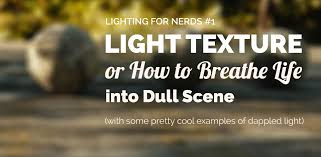 Best Type Of Christmas Tree Lights by Lighting For Nerds 01 Light Texture Or How To Breathe Life Into