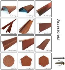 fabulous types of roof tiles coatd metal roof tiles