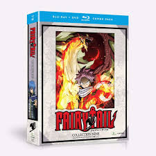 100 Blu Home Video Shop Fairy Tail Collection Nine RayDVD Combo Funimation