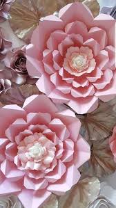 Paper flower template and base PDF file 12
