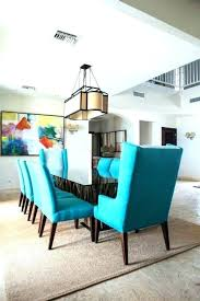 7 Turquoise Dining Room Chairs Chair Striking Island Home With Table Driftwood
