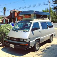 PicturesFirst Van 1987 Toyota Vanwagon Pop Top Conversion AKA The Mackerel