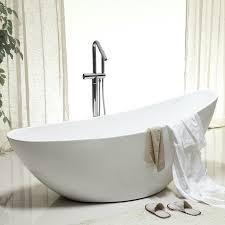 freistehende badewanne vice acryl weiß 183 5 x 78 5 cm oberfläche standarmatur wählbar