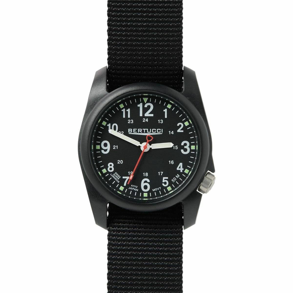 Bertucci DX3 Field Watch | Black/Black