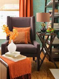 Brown Living Room Decorating Ideas by Best 25 Blue Orange Rooms Ideas On Pinterest Orange Blue Living
