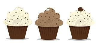 Chocolate Cupcake Clipart