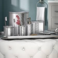 Mercury Glass Bathroom Accessories by Bathroom Accessories You U0027ll Love Wayfair