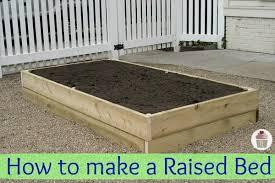How to make a Raised Garden Bed Hoosier Homemade