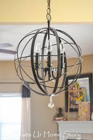 chic chandelier lighting fixtures home entryway hallway foyer