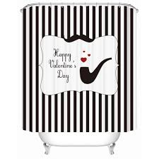 Owl Themed Bathroom Set by Valentine Days Cool Valentine Shower Curtains For Bathroom