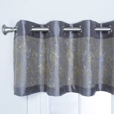 Car Window Curtains Walmart by Better Homes And Gardens Gingham And Blooms Valance Walmart Com
