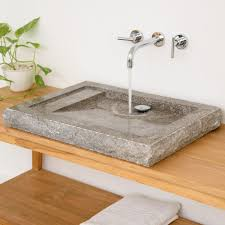 wohnfreuden naturstein waschbecken kotak marmor 70 x 47 x 7