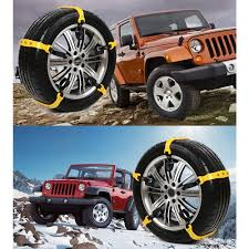 Car Snow Chains Anti Slip Tire 3 Nail - Tooth Strap Snow Chains Tire ...