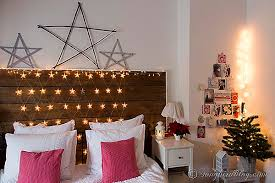 Starry Night A Christmas Bedroom Decoration