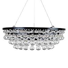 modern glass drop chandelier deco decor custom luxury