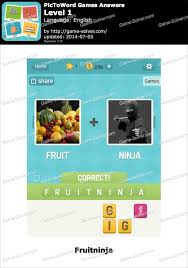 PicToWord Games Answers Game Solver