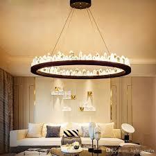 großhandel kurze design moderne kristall kronleuchter schwarz gold hängelen ac110v 220v glanz esszimmer leuchten bar le lightingmfrs