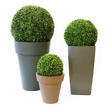 Artificial Boxwood Ball From Evergreen Direct