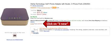 Obihai Technology, Inc.: How To Get The OBi202 And OBiWiFi For ... Obihai Obi200 Voip Telephone Adapter With Google Voice Sip New Phone T38 Fax Amazonca Electronics How To Setup On Your Obi Youtube Linksys Pap2tna Itructions Exede Innomedia Mta63282re Hdware Internet Ebay Over Ip Bh Photo Video Obi202 Review Toms Tek Stop To Get Free Voip Service Through The 6 Best Adapters Atas Buy In 2018
