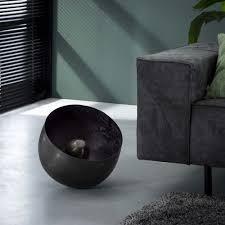 famlights tischleuchte leonardo in schwarz glänzend e27 360mm
