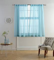 Geometric Pattern Sheer Curtains by Tips U0026 Ideas For Choosing Bathroom Window Curtains With Photos