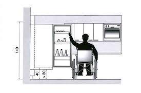 cuisine pour handicapé une cuisine ikea accessible aux personnes à mobilité réduite