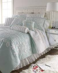 Blissfully Blue and Ethhereal White Bedroom