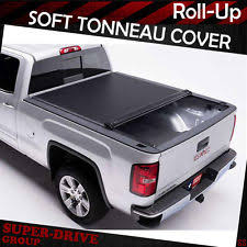 roll up truck bed cover ebay