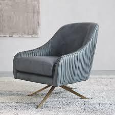 West Elm Everett Chair Leather by Designer Love Armchair Quick