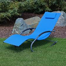 Sunnydaze Outdoor Rocking Wave Lounger With Pillow, Patio And Lawn Lounge  Chair Rocker, Blue Le Corbusier La Chaise Chair Lc4 Lounge Black Leather Lorell Fuze Lounger Fourlegged Base Brown 29 Width X 268 Depth 295 Height Hooker Fniture Ss Kinbor 3piece Outdoor Wicker Adjustable W Table Senarai Harga Japanese Living Room Sun Lounger Chaise Lounge Chair Patiobackyarutdoor Fniture Awesome Sling 1103design Details About Sun Patio Recliner Waterproof Tyneside Mainstays Sand Dune Padded Folding Tan Pu Gel Foam Memory Pad In Your Size For Outdoor Sauna Sun Garden Lounger Lounge Chair Height 5 7 10 Cm Topper Deck