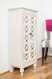 Mirrored Jewelry Box Armoire by Innovation Jewelry Chest Mirror White Jewelry Armoire