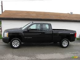 2008 Black Chevrolet Silverado 1500 Work Truck Extended Cab 4x4 ... New 2018 Chevrolet Silverado 1500 Work Truck Regular Cab Pickup 2008 Black Extended 4x4 Used 2015 Work Truck Blackout Edition In 2500hd 3500hd 2d Standard Near 4wd Double Summit White 2009 Reviews And Rating Motor Trend 2wd 1435 1581