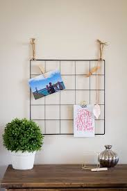 Wire Wall Grid Photo Display Dorm Decor Memo Board