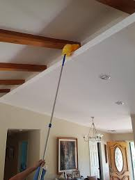 Lighting Solutions For Cathedral Ceilings by Amazon Com 12 Foot Extension Rod And Duster Cleaning High
