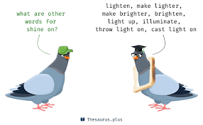 Shed Any Light Synonym by Shine On Synonyms That Belongs To Phrasal Verbs