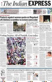 Delhi E Newspaper In English By Indian Express