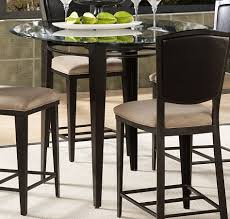 Pub Style Dining Sets Impressive Small Room Round Glass Table And Chairs