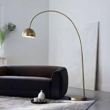 led direct light brass floor l yanzi floor l by artemide