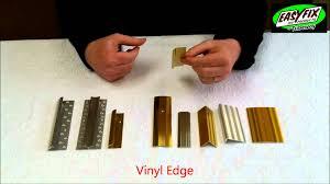 Wood To Tile Metal Transition Strips by Choosing Carpet Metals Easyfix Diy Aluminium Carpet Edges Range