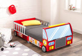 Bed : Size Plastic Bed Toddler Fire Truck Bedding View Kids Large ...