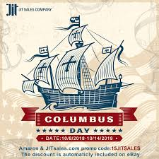 Are You Ready For The Columbus Day Sales? - JIT Sales Best Tip Ever Cpg Can Use Jit Transportation Services Llc Freight Broker Alert Jhellyson Musiian From Dangerous Boyz College Of Just In Time Truckload Solutions Medical Device Pharmaceutical Service For Automation Agricultural Logistics Jit Plus Michigan Based Full Service Trucking Company Attention Editors Publication Embargo Tuesday 062017 2030 The 2018 Heavy Duty Aftermarket Trade Show Sales Kenworth Mix Trucks Is Chaing Fleet Owner Big Columbus Day Trailer Skirt Sales Oct 8th Till 14th