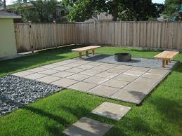 Patio Ideas Pavers Contemporary Paver Patio In A Clean Lined Yard