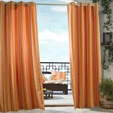 Green Striped Curtain Panels by Outdoor Decor Gazebo Grommet Outdoor Curtain Panel Hayneedle