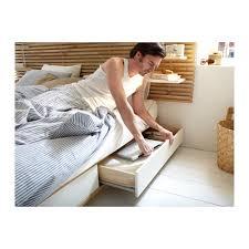 mandal bed frame with headboard 140x202 cm ikea