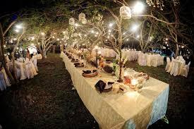 Spanish Hacienda Outdoor Wedding Reception