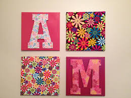 Wall Hanging Ideas With Living Unbound DIY Easy Using Canvas Fabric