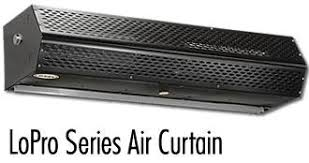 air curtains fly fans for large dock door openings air doors fly