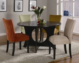 castana 5 piece dining set in rich cappuccino finish by coaster